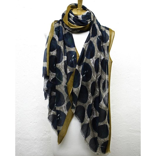 Directions You Hit The Spot Cotton Modal Scarf