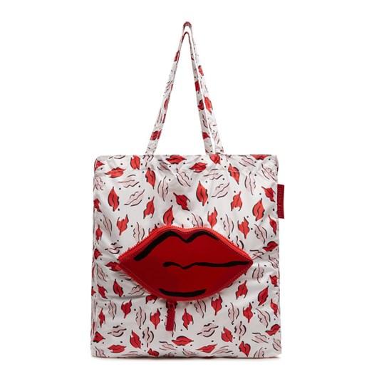 Lulu Guinness Beauty Spot Foldaway Shopper