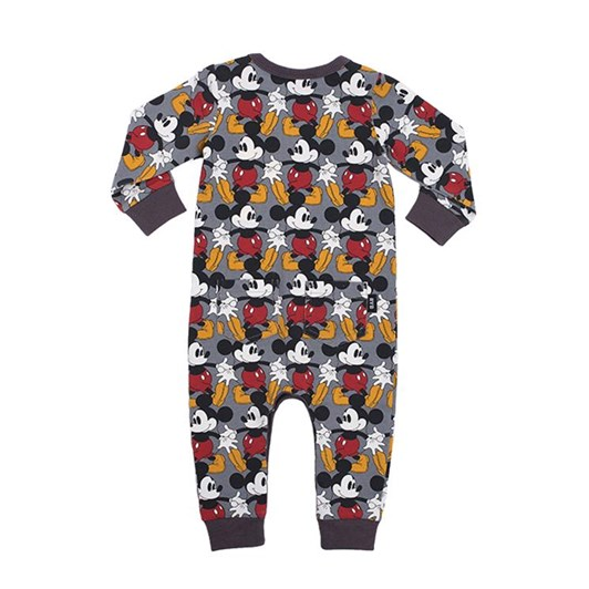 Rock Your Baby Marching Mickey - Ls Playsuit