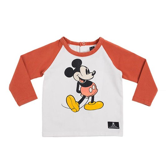 Rock Your Baby 80'S Mickey - Ls T-Shirt