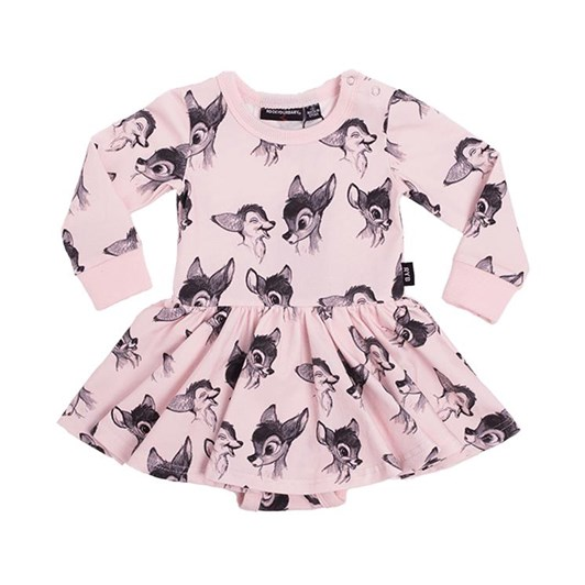Rock Your Baby Bambi Love - Ls Waisted Dress