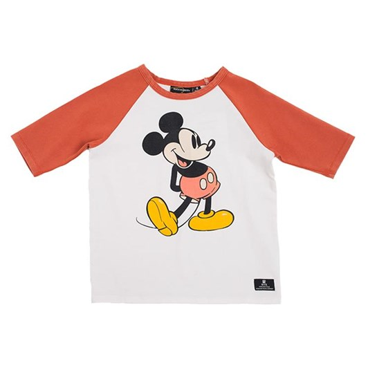 Rock Your Baby 80'S Mickey - 3/4 Sleeve T-Shirt