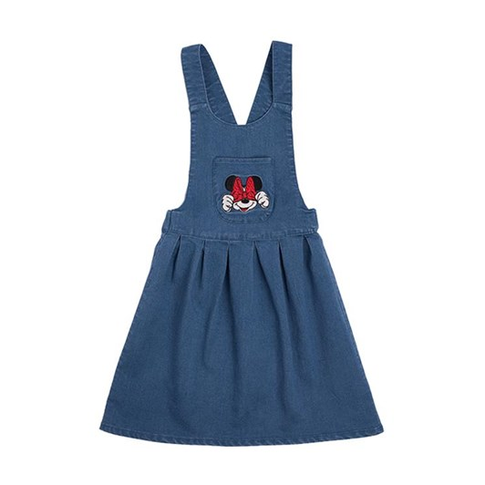 Rock Your Baby Minnie Mouse Patch - Pinafore Dress