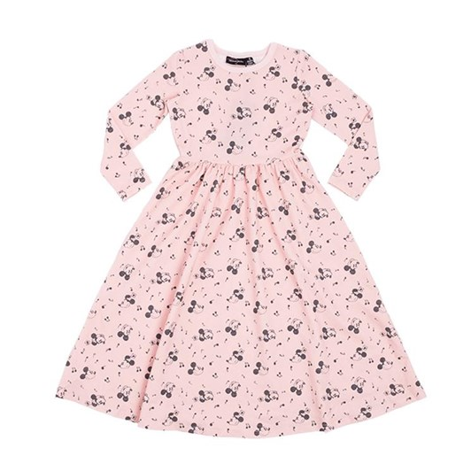 Rock Your Baby Musical Mickey - Ls Maxi Dress