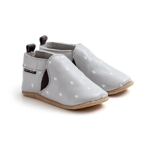 Pretty Brave Slip-On Grey Shoes