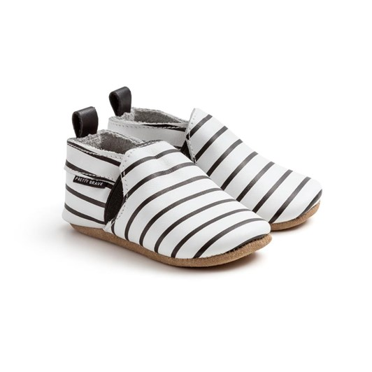 Pretty Brave Slip-On Stripe Shoes