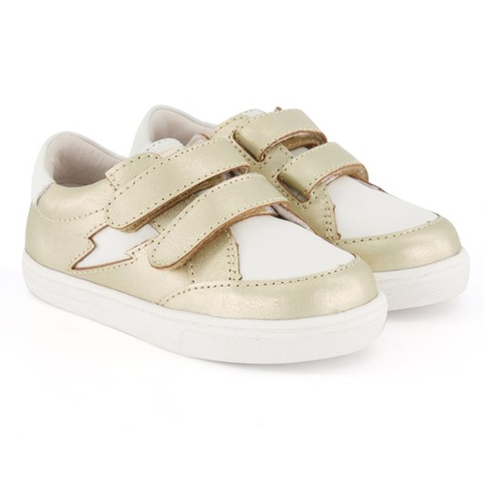 Pretty Brave Xo Trainer Gold Shoes