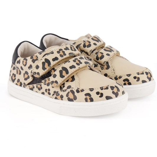 Pretty Brave Xo Trainer Leopard Shoes