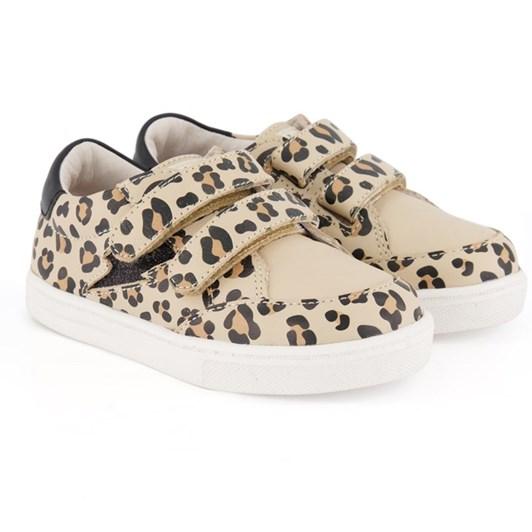 Pretty Brave Xo Trainer Leopard Shoes