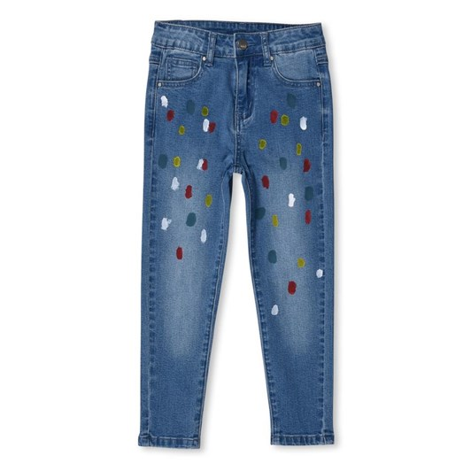 Minti Paint Spot Denim Jeans