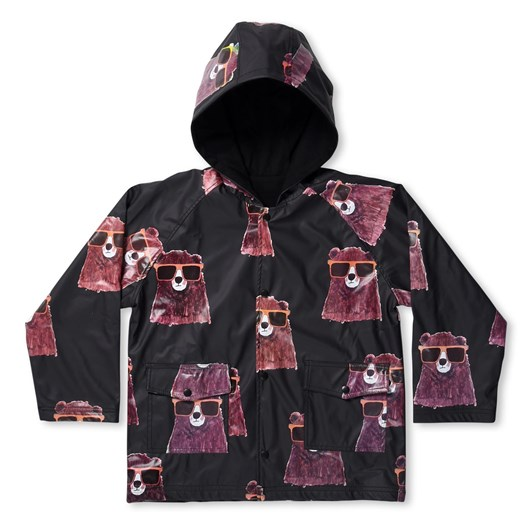 Minti Undercover Bear Lined Raincoat