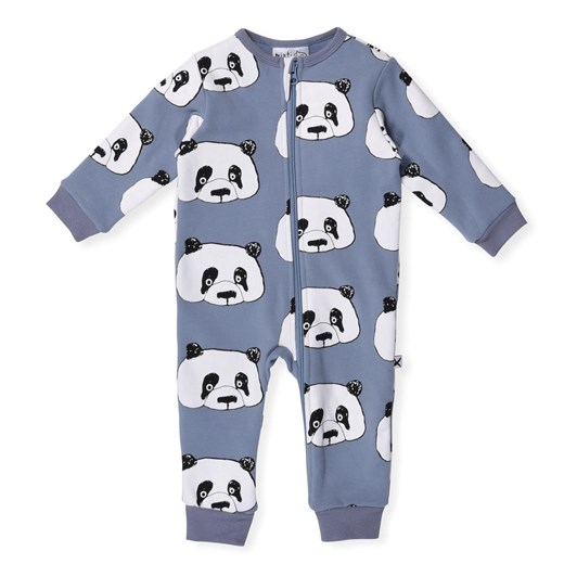 Minti Cheeky Panda Furry Jumpsuit