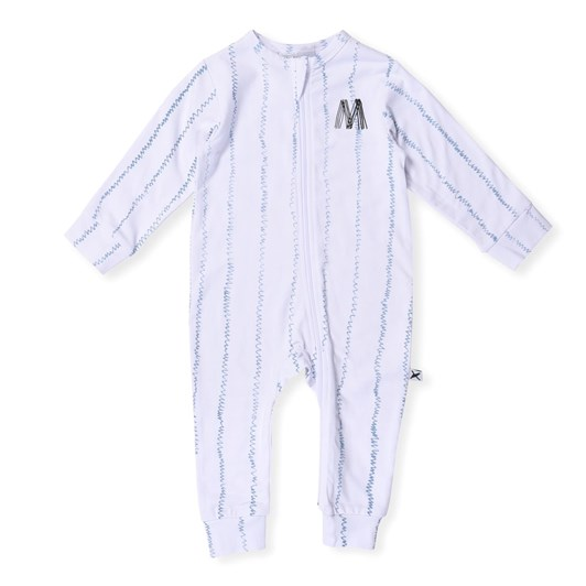 Minti Ziggy Stripe Zippy Suit