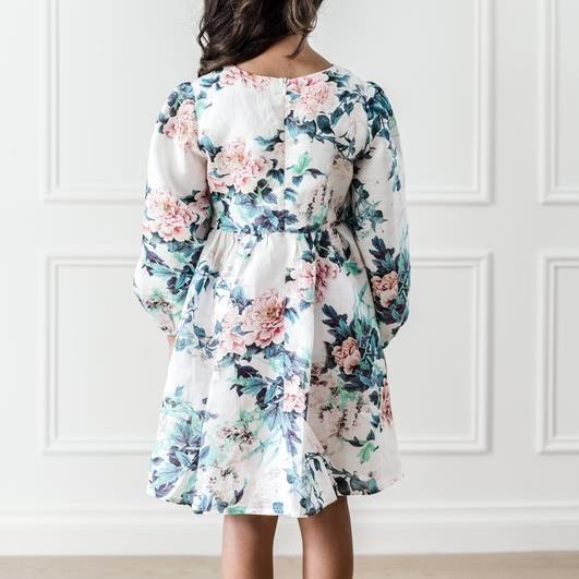 Petite Amalie Floral Print Swing Dress