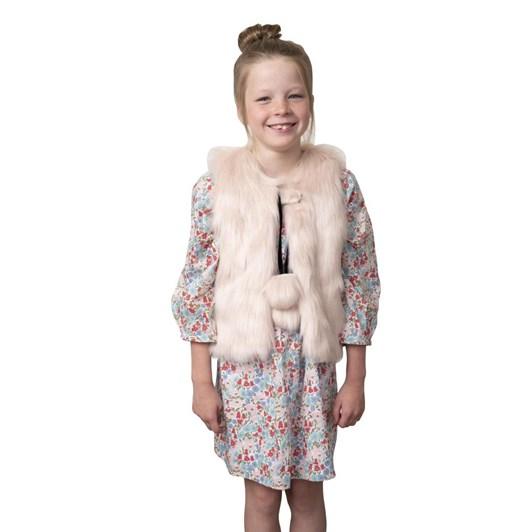 Lilymae Ruby Faux Fur Vest