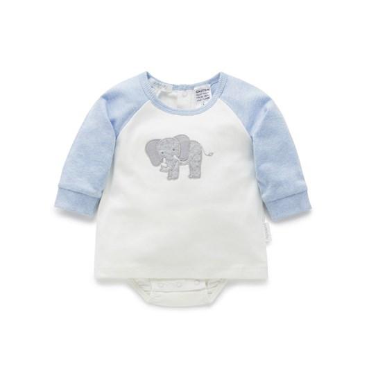 Purebaby Elephant Bodysuit