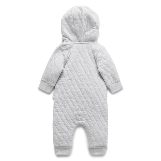 Purebaby Quilted Growsuit