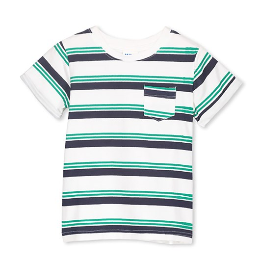 Milky Green Stripe Tee