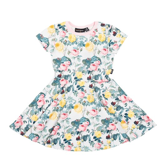 Rock Your Baby A Rose Is A Rose Waisted Dress