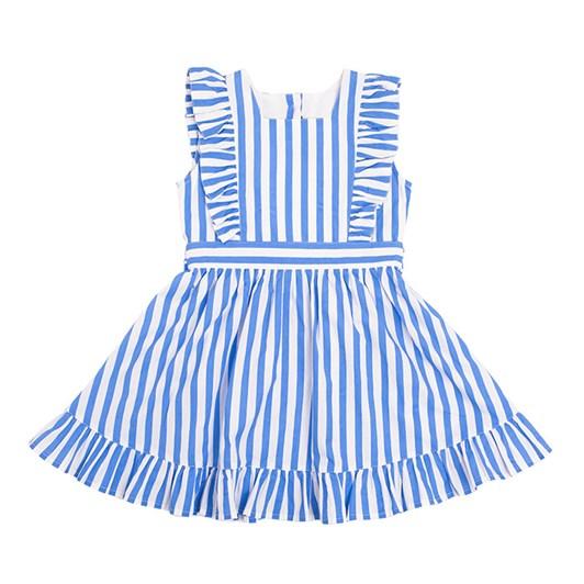 Rock Your Baby Blue Stripe Babette Dress