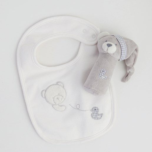 Gingerlilly Baby Bib And Toy Set