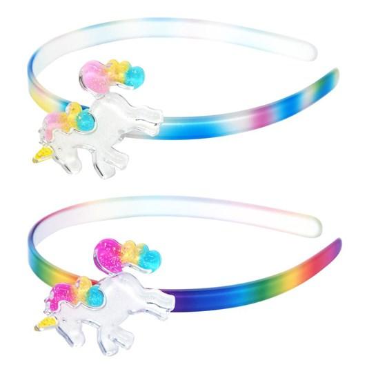 Pink Poppy Rainbow Unicorn Headband