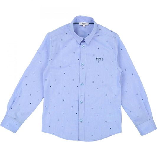 Hugo Boss Long Sleeved Denim Shirt
