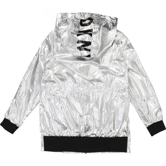 DKNY Hooded Windbreaker