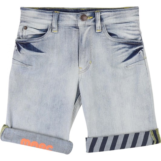 Little Marc Jacobs Denim Bermuda Shorts