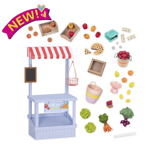 Our Generation Dolls Accessory Set - Farmers Market Set