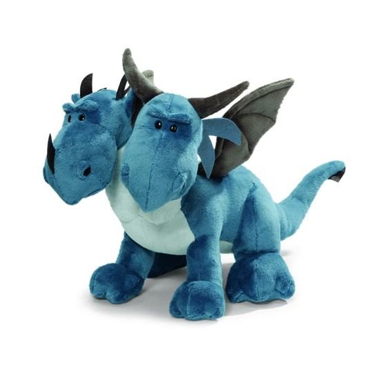 Antics Dragon Doublehead Blue 50Cm