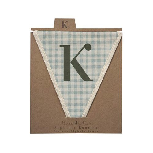 Oxted Checked K Pennant