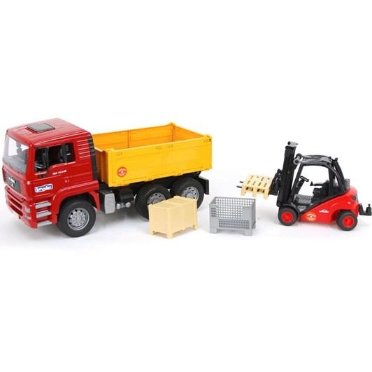 Bruder Man Truck & Forklift Play Set