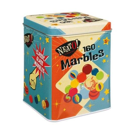 Toysmith Neato Marbles In A Tin Box