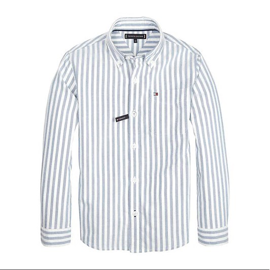 Tommy Hilfiger Oxford Stripe Shirt L/S