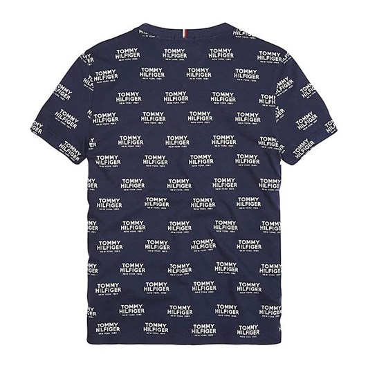 Tommy Hilfiger All Over Print Logo Tee S/S