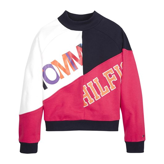 Tommy Hilfiger Color Text Block Sweatshirt