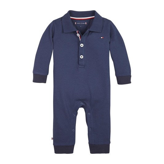 Tommy Hilfiger Baby Boy Polo Coverall L/S