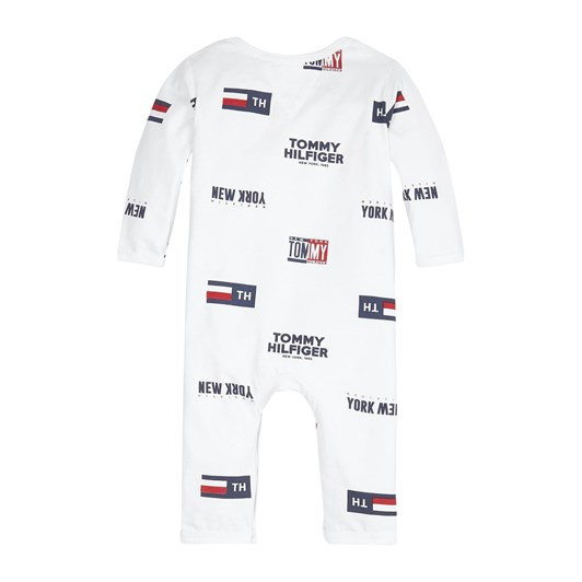 Tommy Hilfiger Baby All Over Print Coverall L/S