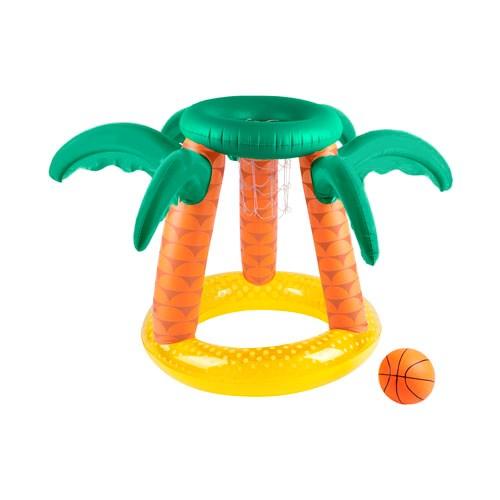 Sunnylife Inflatable Basketball Set Tropical Island