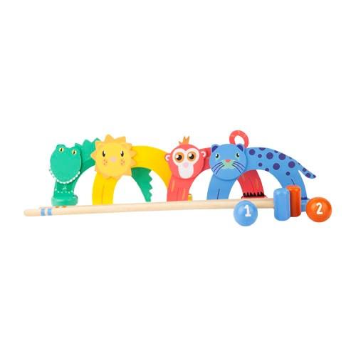 Sunnylife Kids Croquet Set Zoo