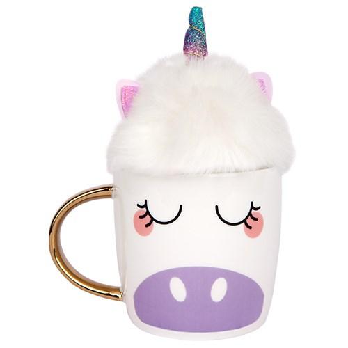 Sunnylife Unicorn Fluffy Mug Set