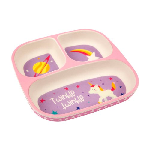 Sunnylife Eco Kids Plate Stardust