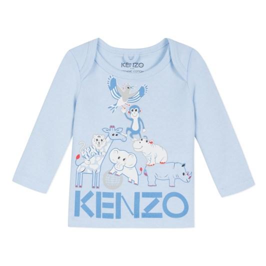 Kenzo Kids Crazy Jungle Mb Tee Shirt