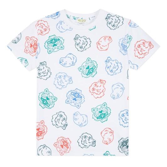 Kenzo Kids Crazy Jungle Jb Tee Shirt