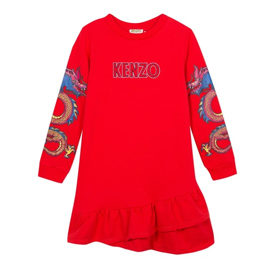 Kenzo Kids Japanese Flower Jg Dress