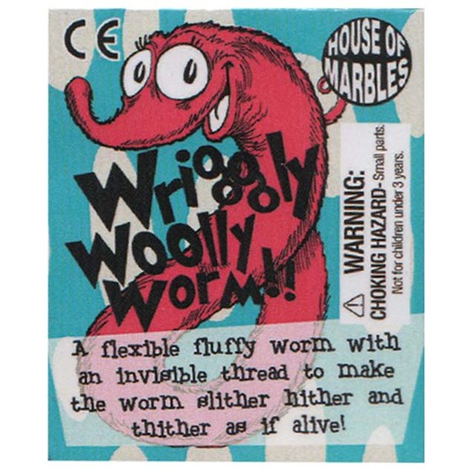 House of Marbles Wriggly Woolly Worms