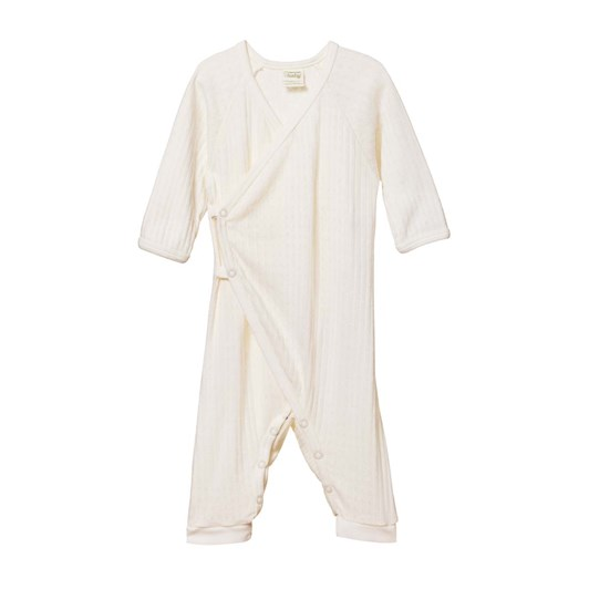 Nature Baby Kimono Stretch & Grow Pointelle