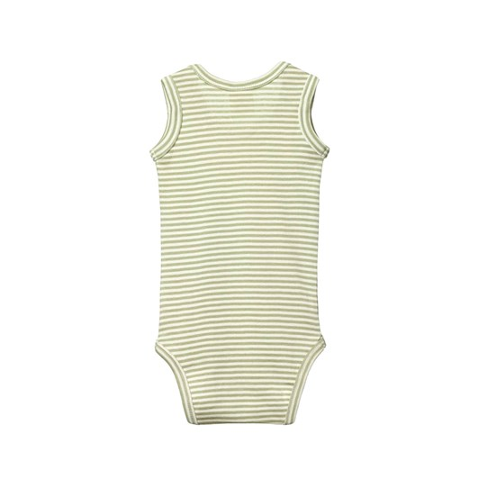 Nature Baby Cotton Rib Singlet Bodysuit