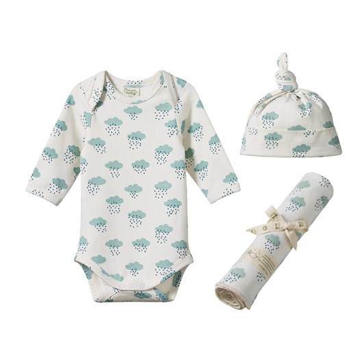 Nature Baby Stretch Jersey L/S Newborn Gift Set